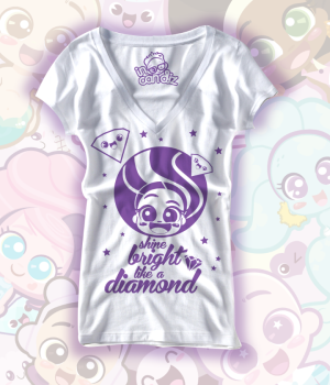 shine bright like a diamond tee